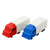 Customized Cargo Truck Shaped USB Drive Gifts Custom Designed USB Flash