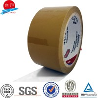china bopp acrylic transparent 24mm gummed tape