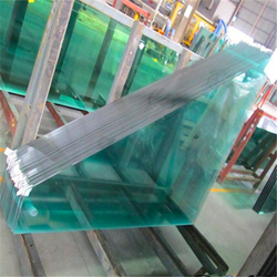 6.38mm-12.38mm triple laminated glass with pvb film manufacture
