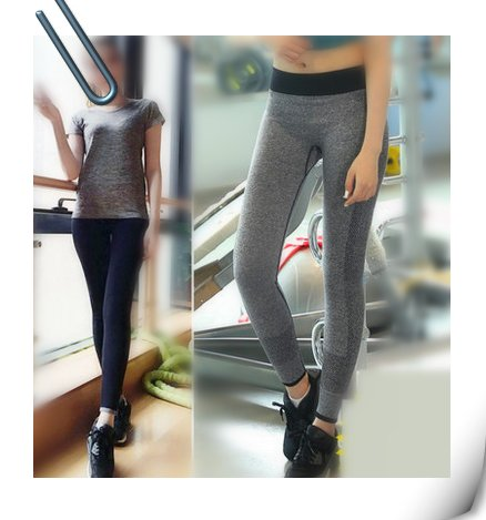 fashion sports yoga pants for women