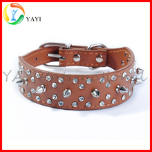 High Quality Medium Large Breeds Studded Rivets Pet Dog Collar