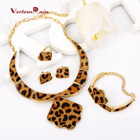 WesternRain Real Leather Horse Hair Jewelry for Sexy Women,Hot Sale Gold Copper Alloy Jewelry Sets/ Fshion Party jewellery