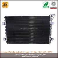 air handling unit hot oil heat exchanger with copper tube hydrophilic aluminum fin