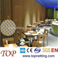 Metallic drapery /Exhibition metal curtain