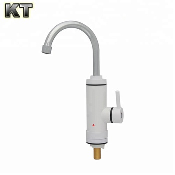 Portable tankless electric instant hot water heater water faucet