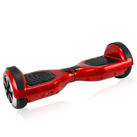 shenzhen factory lowest offer blue tooth remote control hoverboard two wheels smart self balancing electric scooterwith 6.5inch