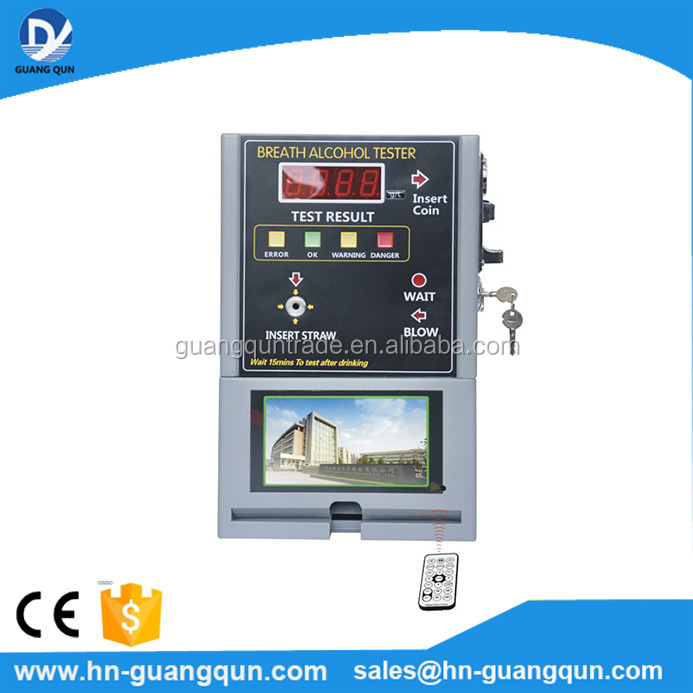 Reasonably priced AT319V coin operated breathalyzer electrochemical alcohol sensor Big factory
