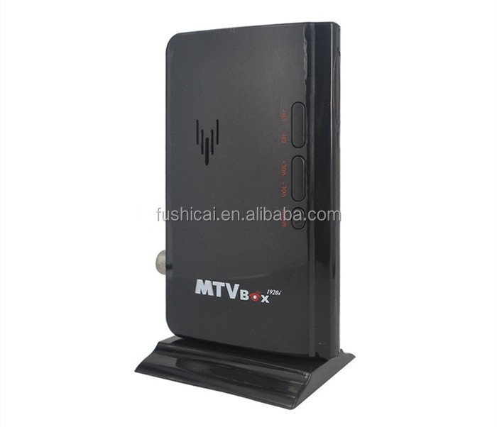Digital HD 1080P Speaker TV Box / Analog TV Tuner Box / CRT monitor Computer TV Program Receiver