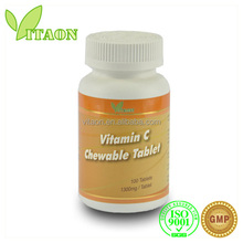 1000 mg ISO GMP Certificate and OEM Private Label Vitamin C Effervescent Tablets