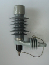 Manufacturer and supplier of high voltage polymer metal-oxide lightning surge arrester made in China electrical equipment