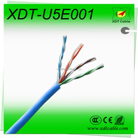 Best price China guangzhou supply 4pr 24awg utp cat5e cable UTP, FTP, SFTP cat 5e lan/ netwrok/ computer cable