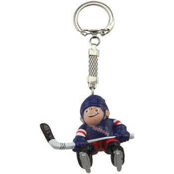 metal/PVCNY Rangers hockey ball keychains