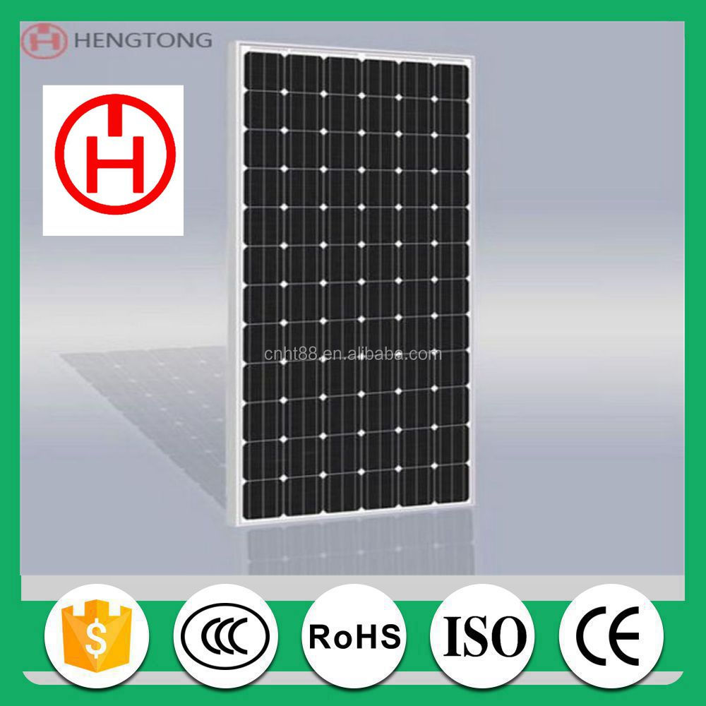 professional photovoltaic mono and poly solar panel price manufacturers in China