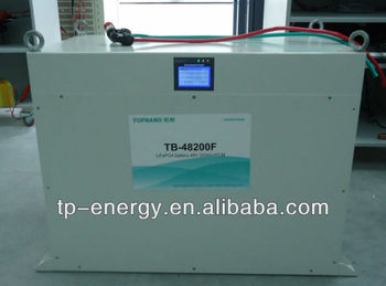 48V200Ah UPS LiFePo4 battery TB-48200F with BMS and cold-rolled plate