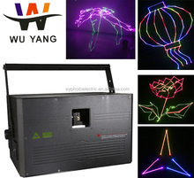 christmas projector laser light show cool beam animation ILDA 10w rgb laser