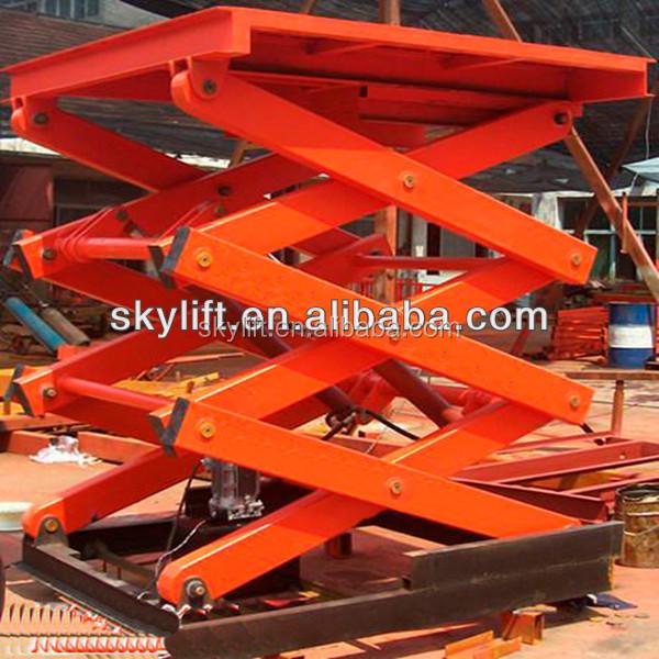 Scissor Lift Mechanism Design : Hydraulic electric scissor table lift mechanism design