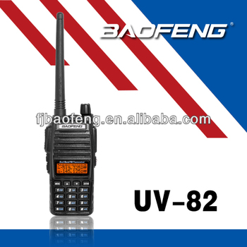 BAOFENG NEW UV-82 with double PTT design dual band baofeng two way radio sale