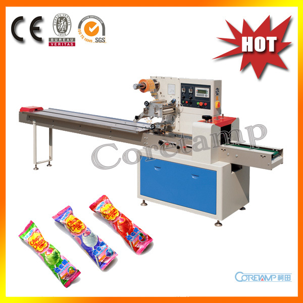 High quality lollipop plastic wrapper machine with best price