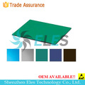 2 layer antistatic rubber table top safe pvc ground mat