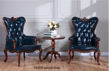 K6908 Antique American style China made relaxing living room furniture rest chair