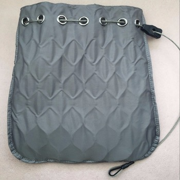 Waterproof cloth bag/anti-theft cloth bag stainless steelwire rope inside