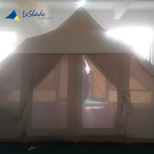 Factory supply customized unique cotton canvas tipi touareg tent luxury