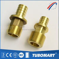 High quality brass water pipe connector Rehau style