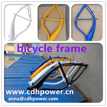 NEW DESIGN 2.4L gas tank frame , motorized bike frame with tank built in