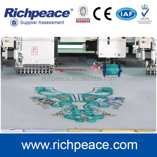 Mixed Coiling Cord Digital Computer Embroidery Machine Price