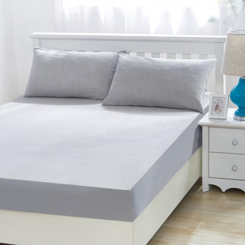 Custom Hypoallergenic Durable Waterproof Fitted Hotel Mattress Protector - Jozy Mattress   Jozy.net