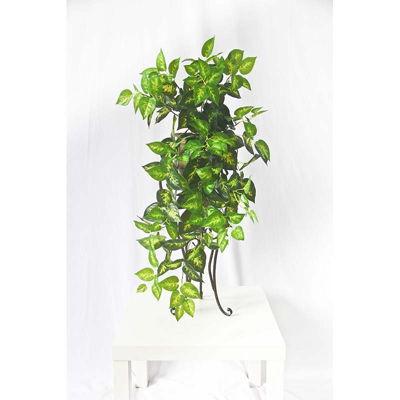 Wall plant artificial hanging grape leaf for home decoration hanging tomato plants