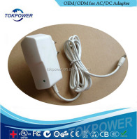 New factory 100% wall mount ac power adapter 12V 1250ma UL CSA approval