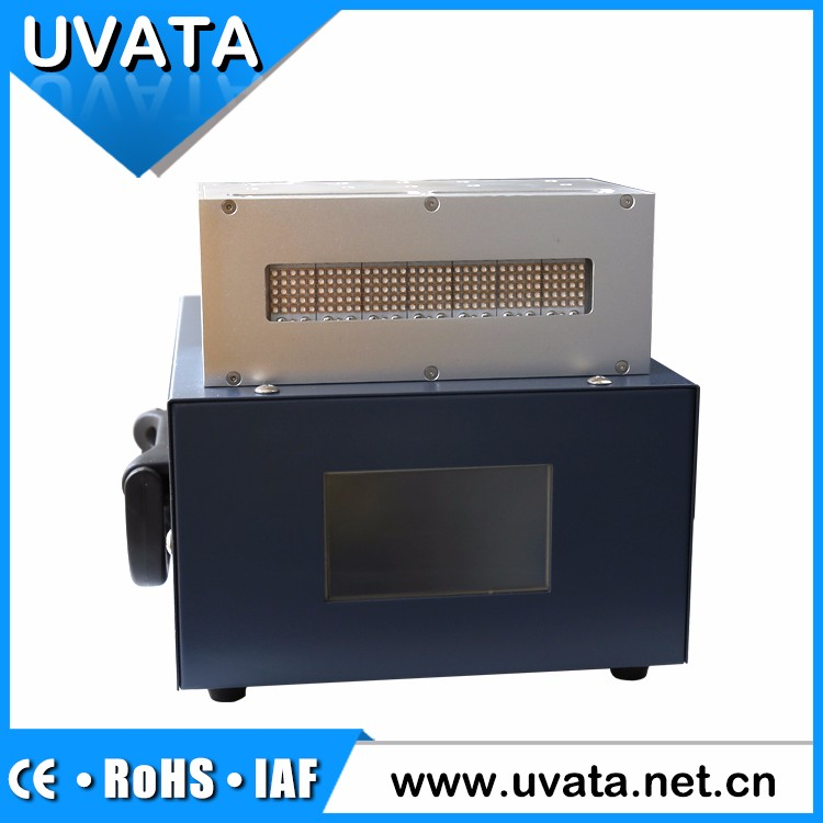 vertical light offset printing water cooling 395nm LED UV curing system