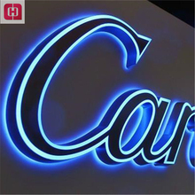 Acrylic alphabet letter 3d led mini outdoor changeable letter sign