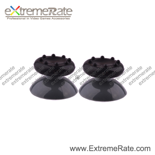 Black Thumbstick Stick Grips Cover for Xbox 360 Controller Joysticks PS3 Wii