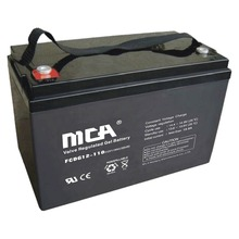 12V110AH China Manufacturing Full Gel Lead acid battery / Deep Cycle