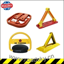 Orange/ Yellow Safety Remote Control Parking Space Barrier