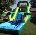 2018 cheap inflatable water slides for sale