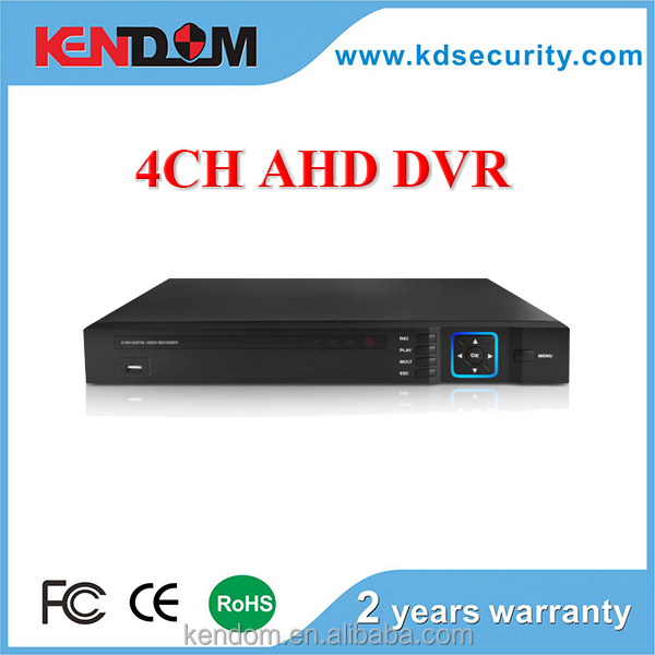 Kendom 960H 4 / 8ch AHD DVR 1080p for Security camera system Hybrid DVR 2ch AHD+2ch IP/Analog IP 4ch 960P realtime