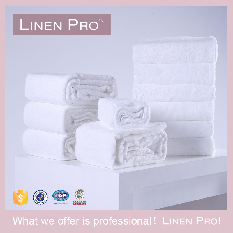 Linen Pro White 22X44 Cotton Bath Towels Quality Hotel Soft Towels