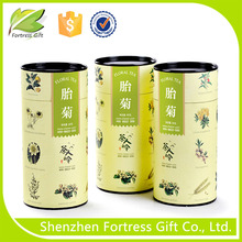 wholesale popular paper tea box tube shape packaging
