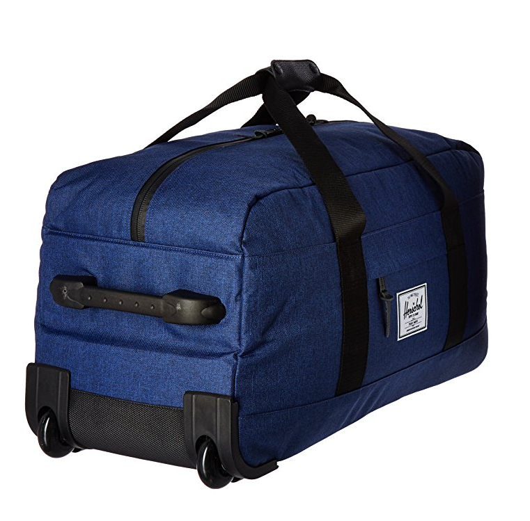 Cargo Hauler Rolling Duffel 24'' -Trendy Large Portable Luggage Cabin Trolley Travel Bag