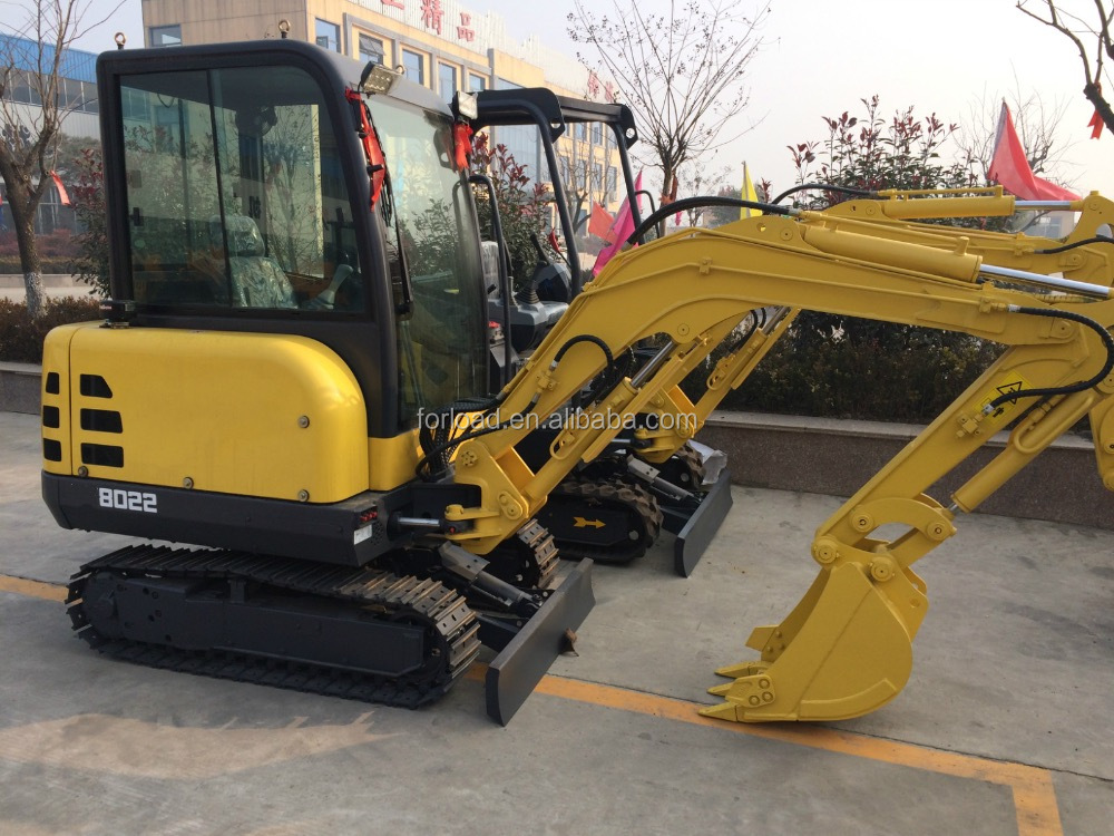 Chinese brand mini crawler excavator with CE certificate for sale