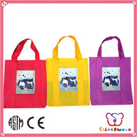 GSV ICTI Factory durable eco-friendly promotion folding non woven tote bags