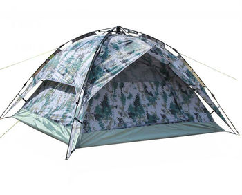 Camping Camouflage Tent Military Tent for 3~4 Persons OEM order or Small order are Available