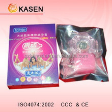 Best selling G Spot deluxe condoms ,Top Vibrating Condom Rings
