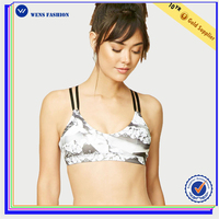 Hot Sale Soft Bra Sports Sexy Yoga Bra Ladies Athletic Bra
