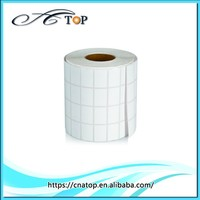 custom printed barcode adhensive thermal sticker paper roll
