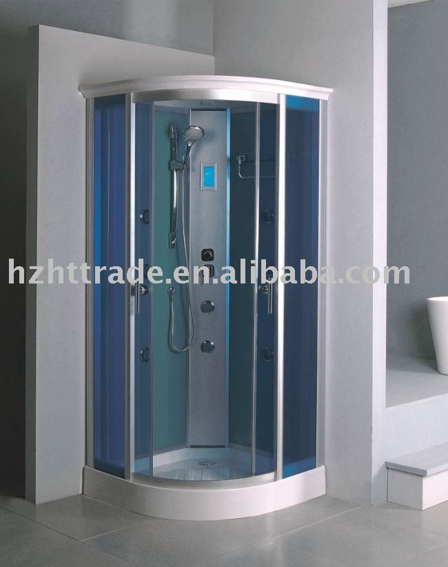 Simple steam shower cabin room