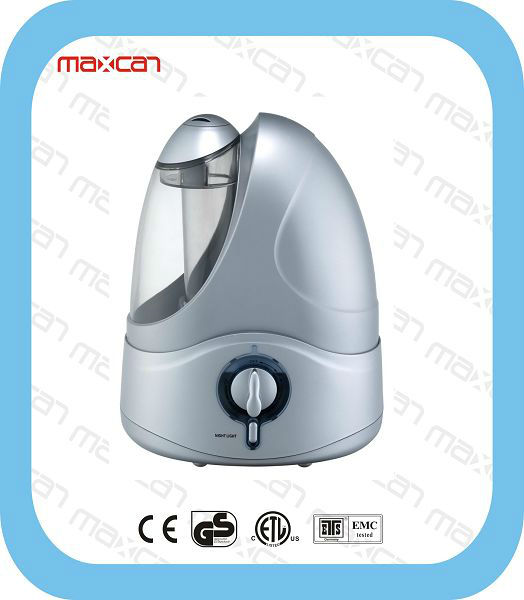 MH 502 Silver Air Humidifier with Ceramic Filter
